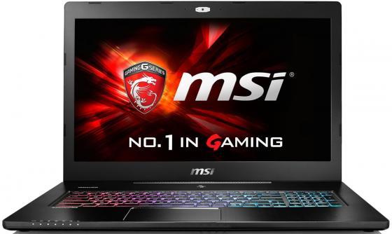 """Ноутбук MSI GS72 6QE-436RU 17.3"""" 1920x1080 Intel Core i7-6700HQ 1 Tb 256 Gb 16Gb nVidia GeForce GTX 970M 3072 Мб черный Windows 10 Home 9S7-177514-436 ноутбук msi gs72 6qe 436ru 9s7 177514 436"""