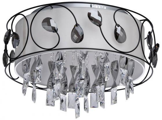 Потолочный светодиодный светильник с пультом ДУ MW-Light Жаклин 10 465014012 бра mw 465022805 жаклин 3х20вт g4 2 3 в chipled 12 в металл