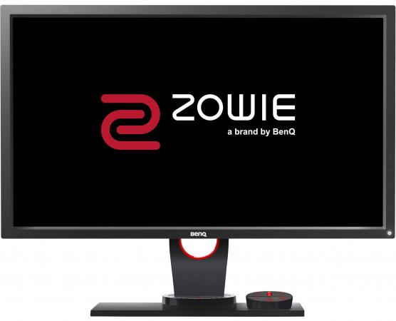 Монитор 24 BENQ XL2430 ZOWIE черный cерый TFT-TN 1920x1080 350 cd/m^2 1 ms DVI HDMI DisplayPort VGA Аудио USB 9H.LF1LB.QBE монитор 19 hp v196 черный tft tn 1366x768 200 cd m^2 5 ms dvi vga