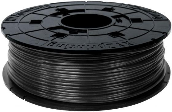 Пластик для принтера 3D XYZ PLA черный 1.75/600гр RFPLAXEU07B пластик для принтера 3d xyz pla натуральный 1 75 600гр rfplbxeu01f rfplb fl8 q6z th 74q s029