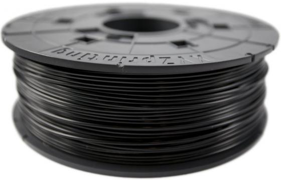 Пластик для принтера 3D XYZ ABS черный 1.75 мм/600гр RF10XXEU02D 3d ручка xyz 1 0 3n10xxeu00g