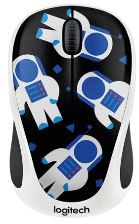 все цены на Мышь беспроводная Logitech M238 Party Collection Космонавт - SPACEMAN USB 910-004716