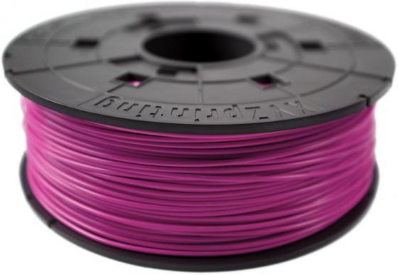 Пластик для принтера 3D XYZ ABS малиновый 1.75 мм/600гр RF10XXEU07E пластик для принтера 3d xyz pla натуральный 1 75 600гр rfplbxeu01f rfplb fl8 q6z th 74q s029