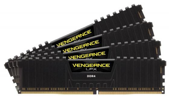 Оперативная память 32Gb (4x8Gb) PC4-19200 2400MHz DDR4 DIMM Corsair CMK32GX4M4A2400C16
