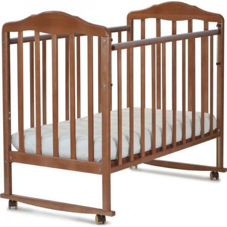 Кроватка-качалка СКВ Березка (орех/120117) кроватка ковчег скв 8 83003x