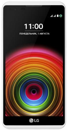 Смартфон LG X Power K220DS черный белый 5.3 16 Гб LTE Wi-Fi GPS 3G LGK220DS.ACISWK смартфон fly fs523 cirrus 16 lte black