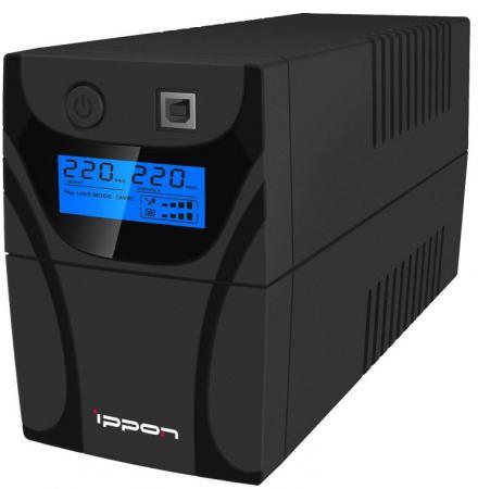 ИБП Ippon Back Power Pro LCD 600 360Вт 600ВА черный стабилизатор напряжения ippon back power pro lcd 600 черный