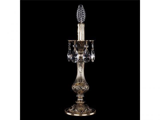 Настольная лампа Bohemia Ivele 7003/1-33/GB bohemia ivele crystal настольная лампа bohemia ivele crystal 7003 1 33 gb