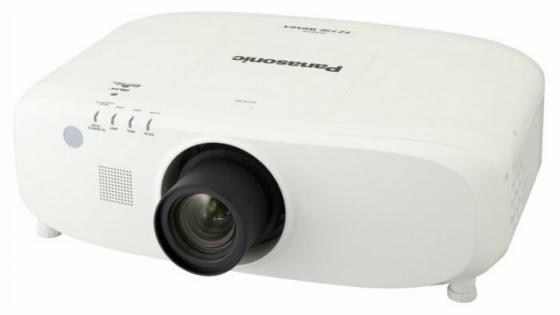 Фото - Проектор Panasonic PT-EW730ZE 1280x800 7000 люмен 5000:1 белый проектор panasonic pt ew650le