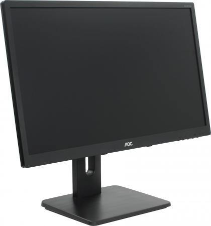 Монитор 23.8 AOC i2475Pxqu черный AH-IPS 1920x1080 250 cd/m^2 4 ms DVI HDMI DisplayPort VGA Аудио USB монитор aoc 23 8 i2475pxqu черный i2475pxqu