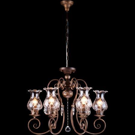 Подвесная люстра Arte Lamp Palermo A2053LM-6BR