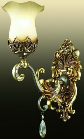Бра Odeon Safira 2802/1W настенное бра odeon light safira 2802 2w