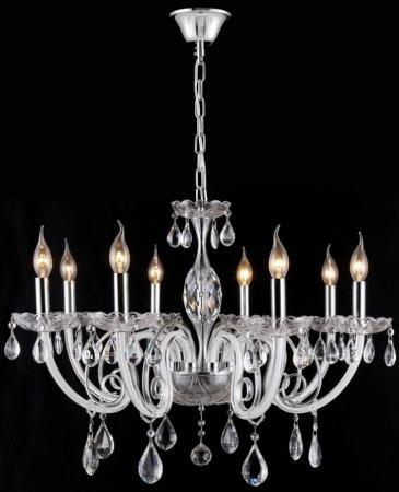 Подвесная люстра Crystal Lux Glamour SP-PL8 подвесная люстра crystal lux glamour glamour sp pl6