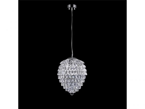 Подвесной светильник Crystal Lux Charme SP2+2 LED Chrome/Transparent подвесной светильник crystal lux charme sp2 2 led gold transparent