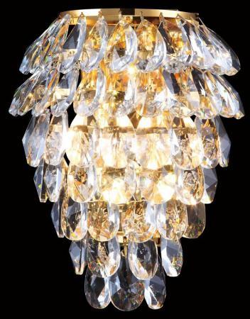 Настенный светильник Crystal Lux Charme AP2+2 LED Gold/Transparent подвесной светильник crystal lux charme sp1 1 led gold transparent