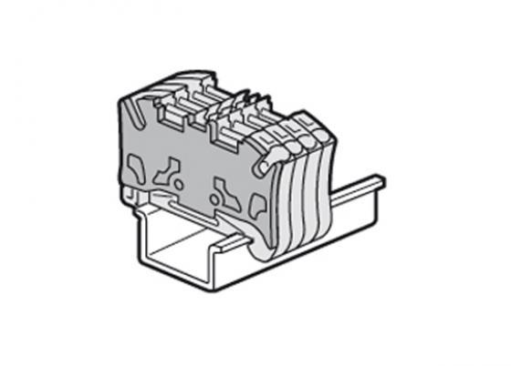 Торцевая крышка для пружинных клемм Legrand 37586