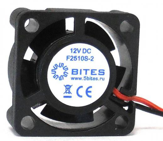Вентилятор 5bites F2510S-2 25x25x10 2pin 23.5dB 10000rpm