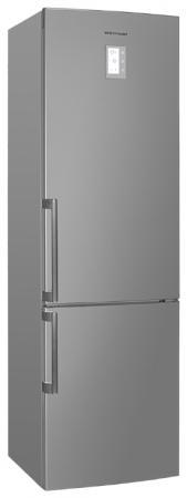 Холодильник Vestfrost VF3863X серебристый холодильник vestfrost vf395 1s bs