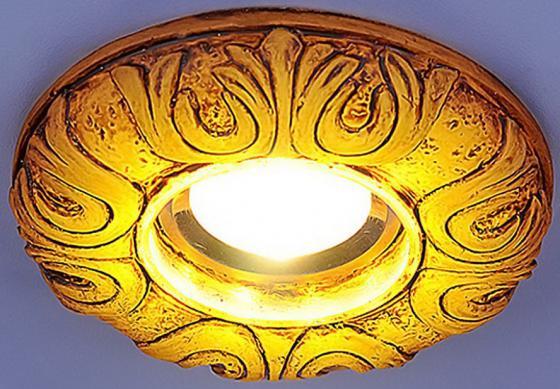 Встраиваемый светильник с двойной подсветкой Elektrostandard 3020 желтая подсветка 4690389030482 elektrostandard встраиваемый светильник со светодиодами elektrostandard 3020 желтая подсветка yl led 4690389030482