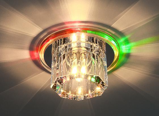 Встраиваемый светильник с двойной подсветкой Elektrostandard N4/A G4 Multi мульти 4690389003158 elektrostandard встраиваемый светильник с двойной подсветкой elektrostandard n4 s g4 multi мульти 4690389003189