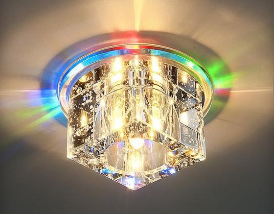 Встраиваемый светильник с двойной подсветкой Elektrostandard N4/S G4 Multi мульти 4690389003189 elektrostandard встраиваемый светильник с двойной подсветкой elektrostandard n4 s g4 multi мульти 4690389003189