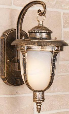Уличный настенный светильник Elektrostandard Atlas GLYF-2010D 4690389042751 elektrostandard светильник на грунт elektrostandard atlas s glyf 2010s черное золото 4690389042850