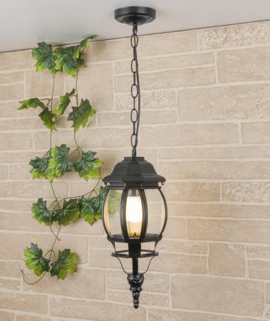 Уличный подвесной светильник Elektrostandard 1001H черный 4690389076039