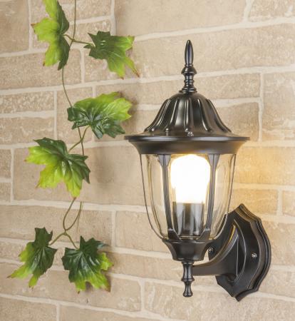 Уличный настенный светильник Elektrostandard 1002U черный 4690389073779