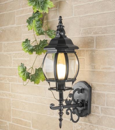 Уличный настенный светильник Elektrostandard 1011U черный 4690389076138 уличный светильник 1001s черный 4690389076053 elektrostandard 1168537