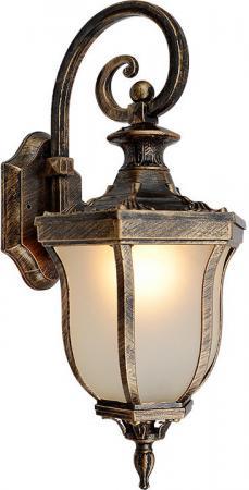 Уличный настенный светильник Elektrostandard Taurus D черное золото 4690389065026 elektrostandard настенный светильник elektrostandard taurus d черное золото арт glxt 1458d 4690389065026
