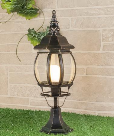 цена на Уличный светильник Elektrostandard 1001S черное золото 4690389076046