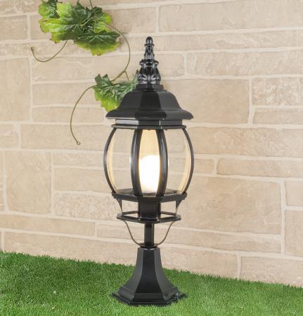 Уличный светильник Elektrostandard 1001S черный 4690389076053 уличный светильник 1001s черный 4690389076053 elektrostandard 1168537