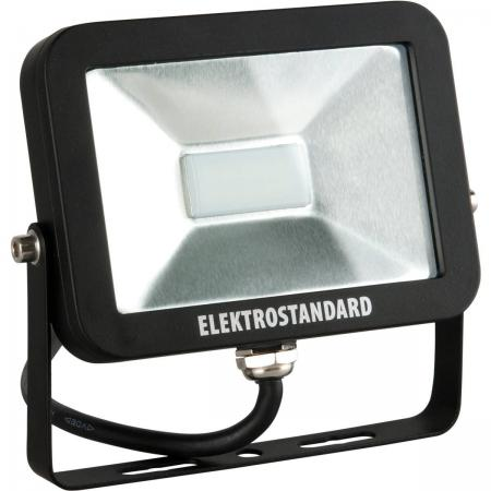 Прожектор светодиодный Elektrostandard Slus LED 10W 6500К 4690389067488 elektrostandard лампа светодиодная elektrostandard свеча на ветру сdw led d 6w 3300k e14 4690389085505