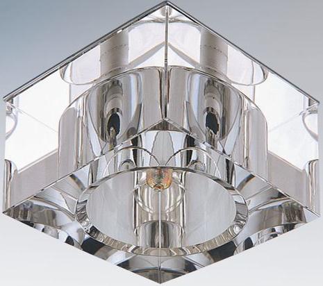Встраиваемый светильник Lightstar Qube 004050 встраиваемый светильник lightstar qube 004050