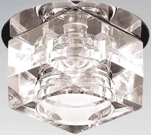 Встраиваемый светильник Lightstar Romb 004064 lightstar встраиваемый светильник lightstar romb 004060