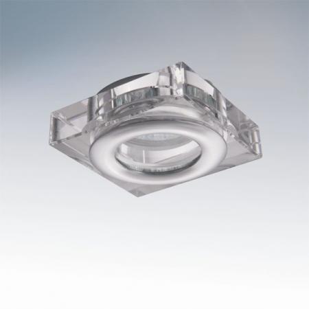 Встраиваемый светильник Lightstar Difesa 006840 встраиваемый точечный светильник коллекция difesa 070203 хром прозрачный lightstar лайтстар