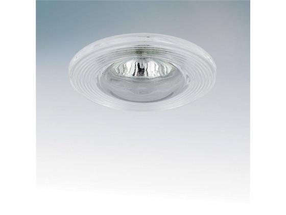 Встраиваемый светильник Lightstar Difesa 006880 встраиваемый точечный светильник коллекция difesa 070203 хром прозрачный lightstar лайтстар