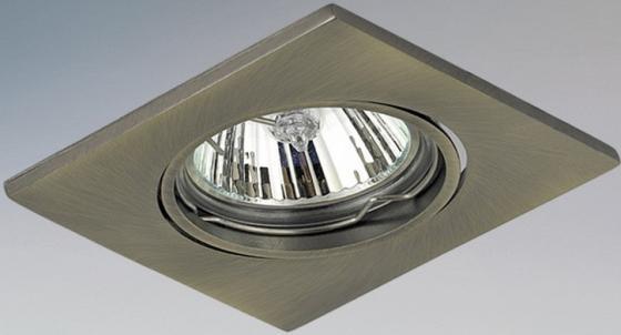 Встраиваемый светильник Lightstar Qua 011938 встраиваемый светильник lightstar artico qua 070244