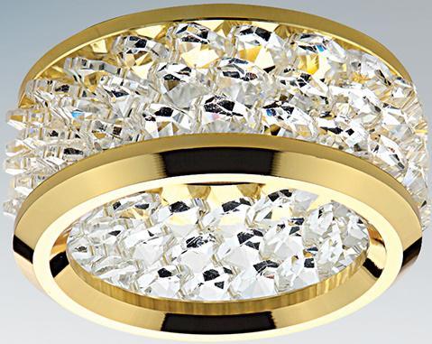 Встраиваемый светильник Lightstar Monile 031802 lightstar встраиваемый светильник lightstar monile top 160304