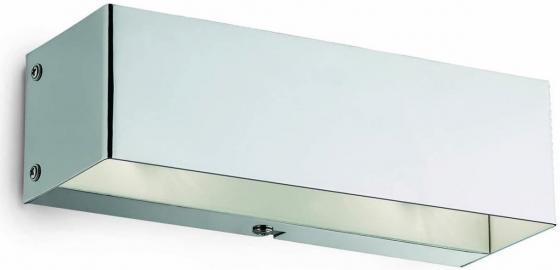 Настенный светильник Ideal Lux Flash AP2 Cromo ideal lux настенный светильник commodore ap2 cromo