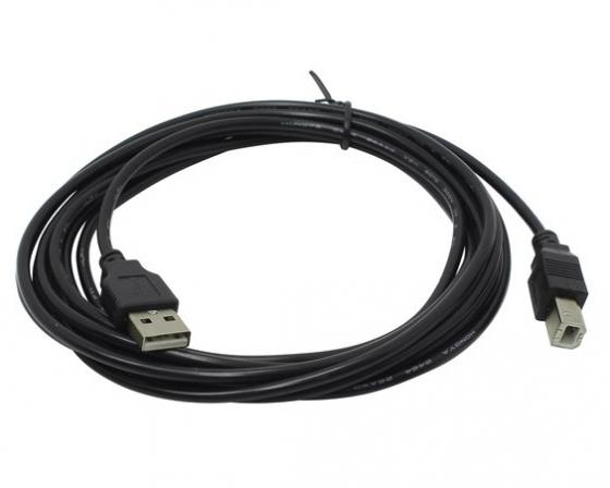 Кабель USB 2.0 AM-BM 3.0м Exegate EX138940RUS антенна wi fi ubiquiti am 5ac22 45 am 5ac22 45