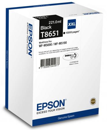 Картридж Epson C13T865140 для Epson WF-M5xxx черный 100% new original printhead print head for epson wf 7525 wf 7521 wf7520 wf 7515 wf 7511 wf 7510 7015 printer head printhead