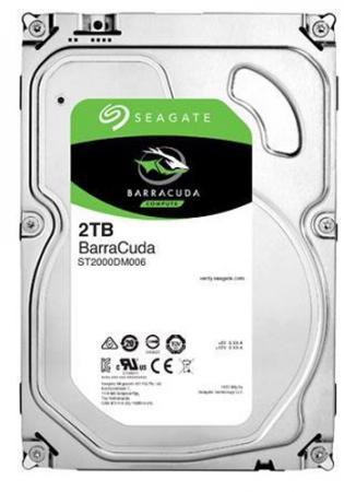 Жесткий диск 3.5 2 Tb 7200rpm 64Mb cache Seagate Barracuda SATAIII ST2000DM006