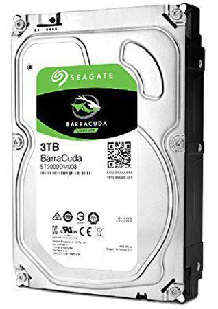 Жесткий диск 3.5 3 Tb 7200rpm 64Mb cache Seagate Barracuda SATAIII ST3000DM008
