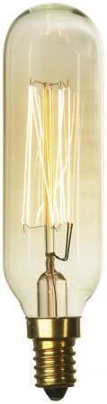 цены Лампа накаливания цилиндр Lussole Loft E14 40W 2700K GF-E-46