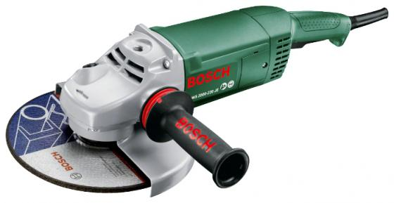 Угловая шлифмашина Bosch PWS 2000-230 JE 2000Вт 230мм шлифовальная машина bosch pws 2000 230 je 06033c6001