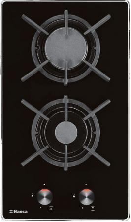 Варочная панель газовая Hansa BHKS31037 черный
