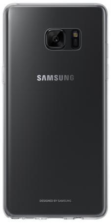 Чехол Samsung EF-QN930TTEGRU для Samsung Galaxy Note 7 Clear Cover прозрачный чехол клип кейс samsung для samsung galaxy note 8 clear cover great прозрачный ef qn950ctegru