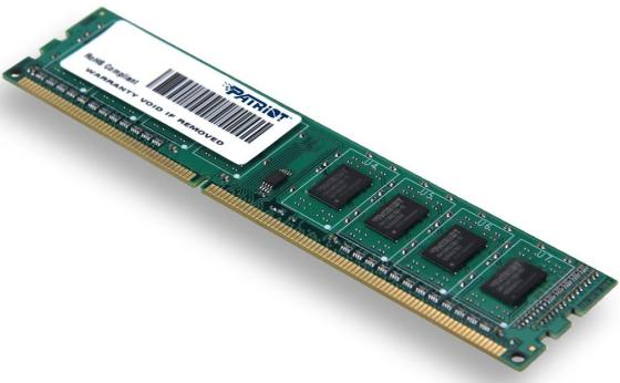 Оперативная память 4Gb PC3-10600 1333MHz DDR3 DIMM Patriot PSD34G13332 память so dimm ddr3 patriot 4gb 1333mhz psd34g133381s