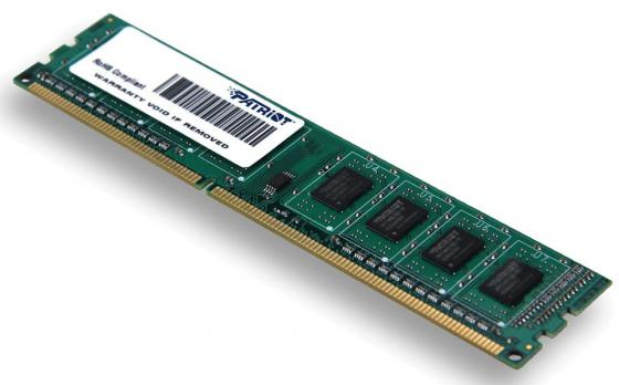 Оперативная память 4Gb (1x4Gb) PC3-12800 1600MHz DDR3 DIMM CL11 Patriot PSD34G16002 память ddr3 2gb 1600mhz patriot psd32g16002 rtl pc3 12800